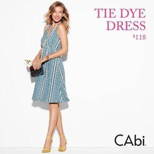 CAbi Tie Dye Dress 323